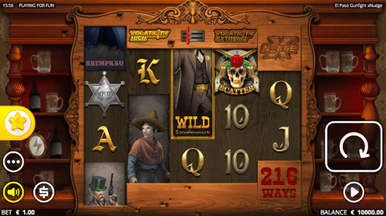 Video slots screenshot